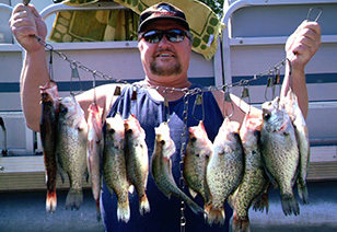 Best times to fish in the Smoky Mountains area.