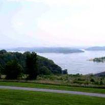 Douglas Lake fishing Tennessee.